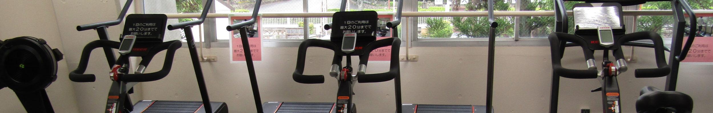 皇子山 陸上競技場  トレーニングルーム